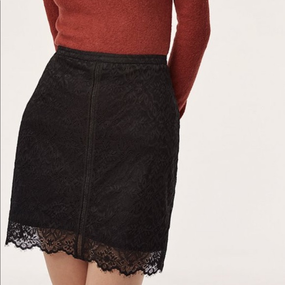 Wilfred Lis Skirt, black lace